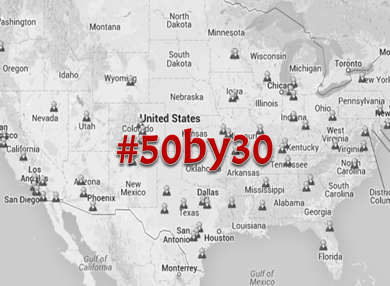 50 by 30